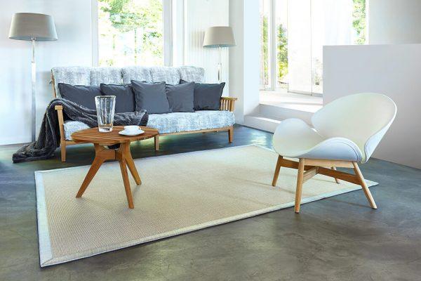 Sisalový koberec v interéri ATCARPET