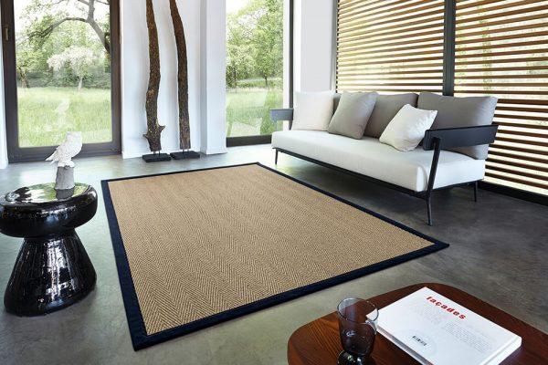 Sisalový koberec tkaný vzor ATCARPET